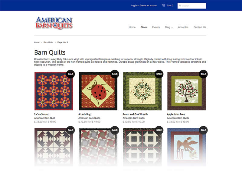 American Barn Quilts Website